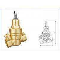 Brass Water Adjustable Temperature Pressure Relief Valve WRAS Certificate