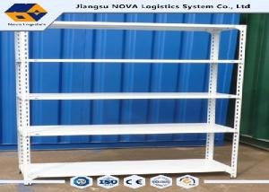 China ISO14001 Middle Duty Rivet Boltless Shelving With Fully Painted Steel Frame on sale