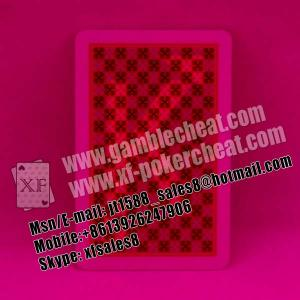 China 2015 XF Copag 100% plastic marked cards for contact lenses|perspective glasses|invisible ink|cheat in poker on sale