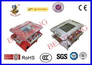 China Coin Operated 4 Player Cocktail Arcade Machine With Stainless Steel Control Panel on sale