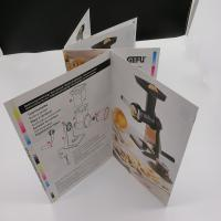 Rectangle / Square Printing Press Brochure Paperboard For User Guide