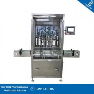 China Vials Liquid Filling Capping Machine International Brand Electrical Components on sale