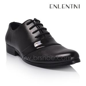 China Italian style shiny upper own brand men's dress shoes on sale