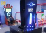 Funny Games Amusement Park Equipment VR Rocket Simulator Precision Positioning