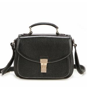 China Black Leather Handbags for women L331 on sale