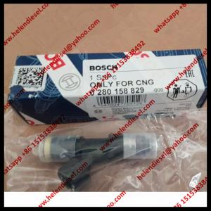 China New BOSCH injector 0280158829 , 0280 158 829 , EV1 Connector ,for Audi Dodge Ford GM Honda Mazda Toyota WEICHAI VW on sale
