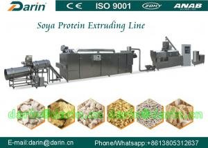 China Stainless Steel Automatic Soya Extruder Machine for plant protein extrusion on sale