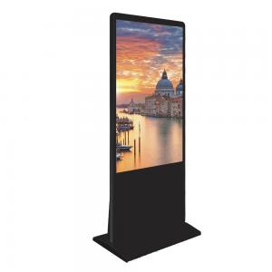 China 55inch  floor stand touch screen indoor android lcd advertising display retail information totem on sale