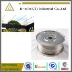 Cable Railing for Pergola /stainless steel wire rope for pergolas and plant training