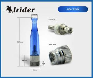 China Ego GSH2 E Cigarette Tank Atomizer No Leakage With 510 Screw Thread on sale