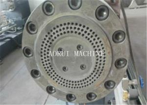 China Double Stage PP Flakes Plastic Granulating Machine With Single Screw on sale