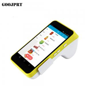 China Colorful Surface Android Pos Terminal , Mobile Pos Terminal With Printer on sale