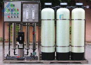 China Containerised Seawater Desalination Water Treatment Plant 220V / 3 Phase / 50Hz on sale