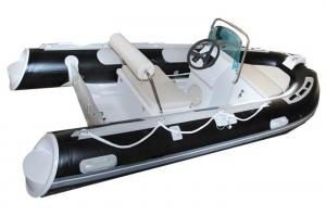 China Small Tender Inflatable Sail Boat 3.3 M , High Intensity Inflatable Fishing Raft on sale