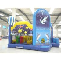 High Stability Inflatable Castle Bouncer Lead Free Double / Quadruple Stitching