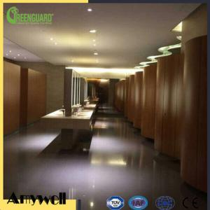 China Amywell 2017 brand quality fireproof hotel compact hpl toilet partition on sale