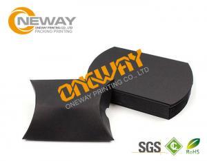 China ギフト昇進の習慣によって印刷される包装箱の白いクラフト紙の枕箱 on sale