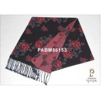 Machine Printed Woven Silk Scarf Floral 120g For Woman