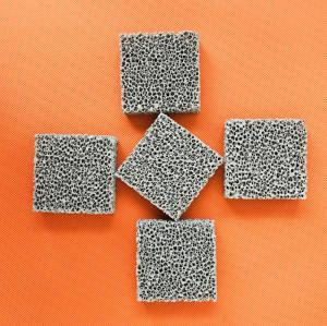 Quality SIC Ceramic Reticulated Foam Filter Dark Grey Colour For Metal Foundry Industry for sale