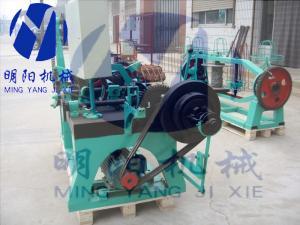 China barbed wire mesh machine /razor barbed wire machine  strand diameter2.0-3.0mm on sale