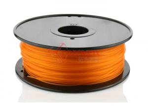 China HIPS PLA 1.75mm 3D printer filament Orange color , 3D ABS filament on sale