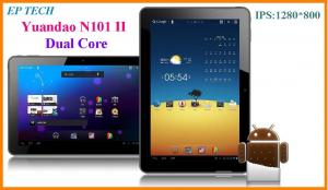 China 10 Yuandao N101 Dual core RK3066 ISP 1280*800 1G 32G Bluetooth Android 4.0.4 Tablet pc on sale