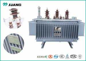 China Copper Electrical Power Transformer 6K - 11Kv 25Kva - 800Kva Oil immersed Power Transformers on sale