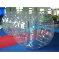 Giant Body Inflatable Zorb Ball , Inflatable Human Bubble Ball Soccer