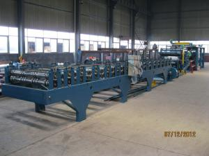 China Insulation Sandwich Panel Roll Forming Machine on sale