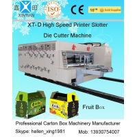 Printing Slotting Automatic Corrugated Carton Box Making Machine / Production Line