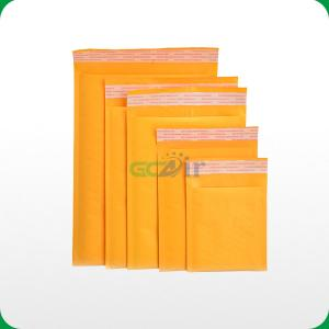 China Factory nature kraft bubble padded mailers on sale