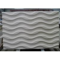 China Natural limestone 3d wall art covering tiles on sale