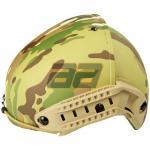 Баллистический шлем сделанный в политене