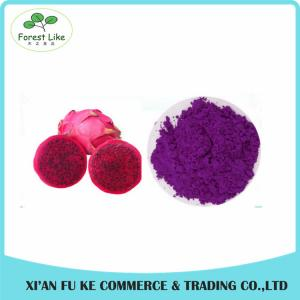 China Food Ingredients Fruit Extract Red Pitaya Extract Powder on sale