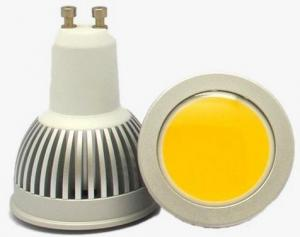 China GU10 3W COB LED Spot Light 3000K Warm White Spot Bulb Light Wholesale on sale