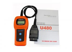 China U480 Car Diagnostic Tool  OBD2 CANBUS Auto Fault Code Reader Orange on sale
