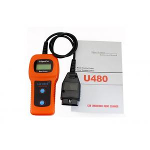 China U480 Car Diagnostic Tool  OBD2 CANBUS Auto Fault Code Reader Orange on sale