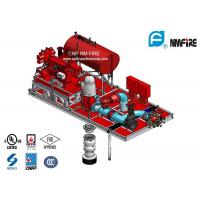 China Red UL Listed Diesel Fire Pump Package With Vertical Turbine Fire Pump Sets on sale