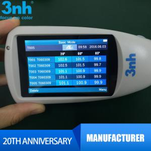China High Glossy 3nh Digital Gloss Meter Continuous Mode 160 * 75 * 90mm on sale