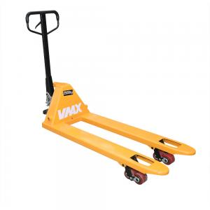 China Mini Hydraulic Hand Pallet Truck 2.5 Ton 1220mm Fork Length Optional Color on sale