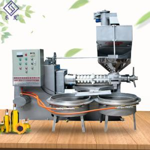China Commercial Soybean Processing Equipment Soybean Screw Oil Presser ISO Certification on sale
