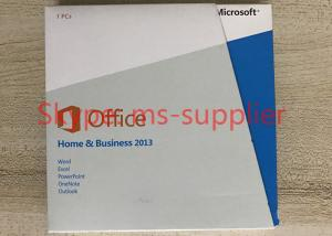 China Download Microsoft 2013 Home And Business Product Key , No Language Limitation on sale