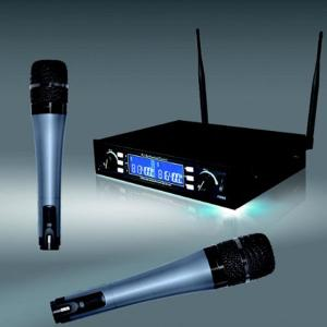 China SA-650 Dual channels wireless microphone system on sale