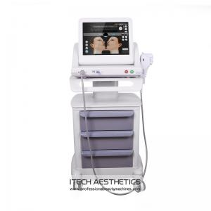 China 5 Cartridges HIFU Beauty Machine For Weight Loss / Wrinkle Removal / Brow Lift on sale
