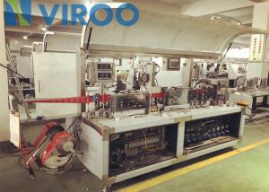 China Full Auto Wet Tissue Paper Making Machine , Wet Wipes Production Line on sale
