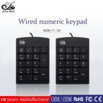 17/18/19 keys custom office desktop wired number keyboard for accounting