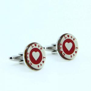 China High Quality Fashin Classic Stainless Steel Men's Cuff Links Cuff Buttons LCF05 on sale