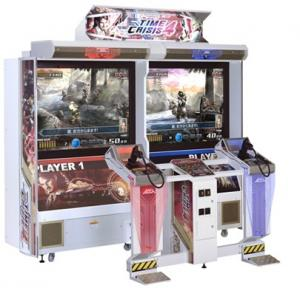 China 50'' LCD Newnest Time Crisis Vesion 4 Shooting Video Arcade Game Machine PTC-P103T on sale