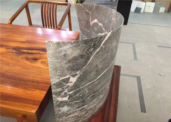 Light Weight Flexible Ultra Thin Stone Dark Grey Slim Type