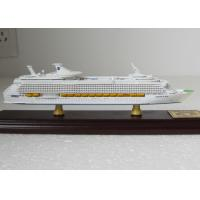 Holland Yacht Toy Cruise Ship Model With Single Piece Assembly Anchor Material
